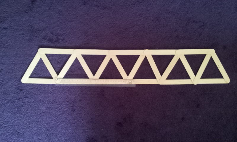 Build Balsa Wood Warren Truss Bridge Diy Pdf Jewelry Chest